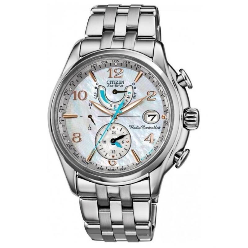 Dámske hodinky CITIZEN Eco-Drive Radiocontrolled Perpetual FC0000 ... 6954b6add62