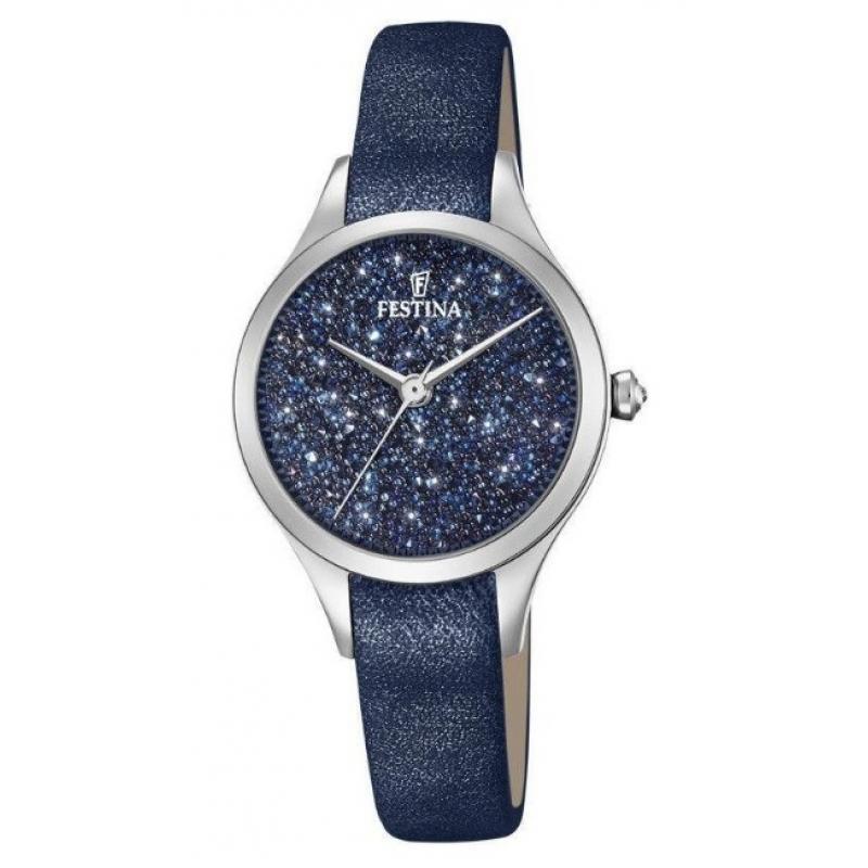 Dámske hodinky FESTINA Swarovski 20409 2  3d5b2c436ea