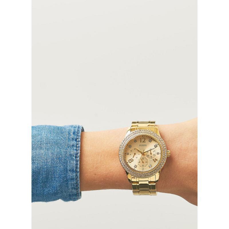 2d66fbe59f3 Dámske hodinky GUESS Bedazzle W1097L2 ...