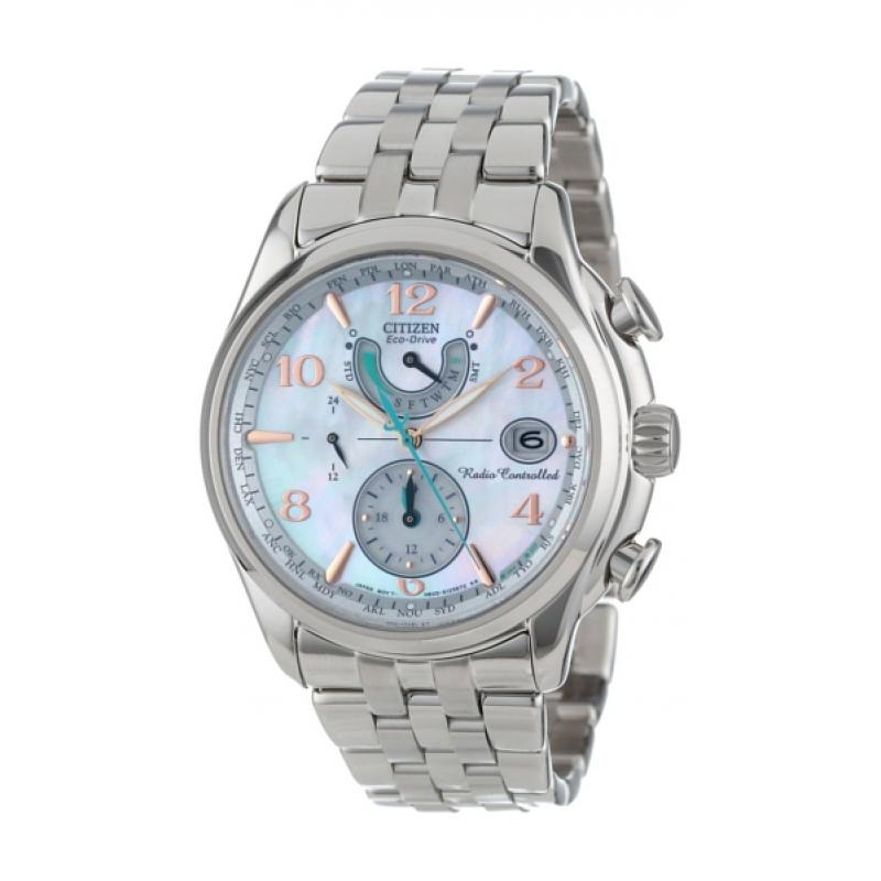 Dámske hodinky CITIZEN Eco-Drive Radiocontrolled Perpetual FC0000-59D ... f9c0bc0bfd9