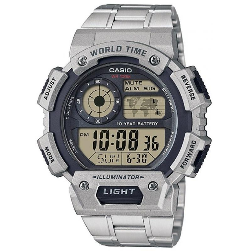 3D náhled Pánske hodinky CASIO Collection AE-1400WHD-1A 7eff4e81f6d