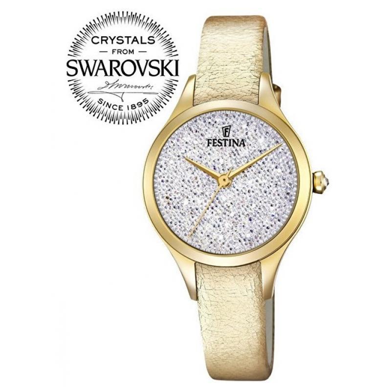 Dámske hodinky FESTINA Swarovski 20410 1 ... 3aeceb37a54