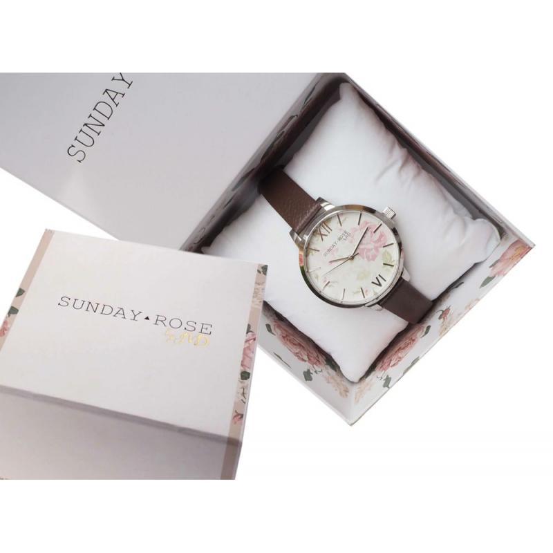 Dámské hodinky JVD Sunday Rose Vintage SUN-A01 ... 950b6b6d4c