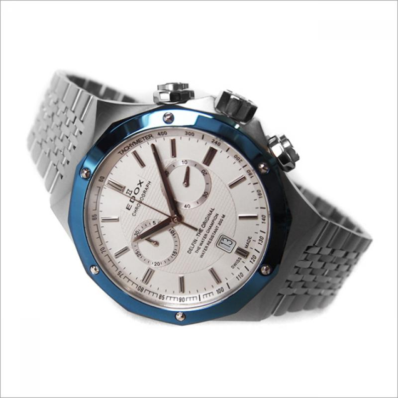 699d864ce Pánske hodinky EDOX Delfin 10108 3BU AIN | Klenoty-buran.sk