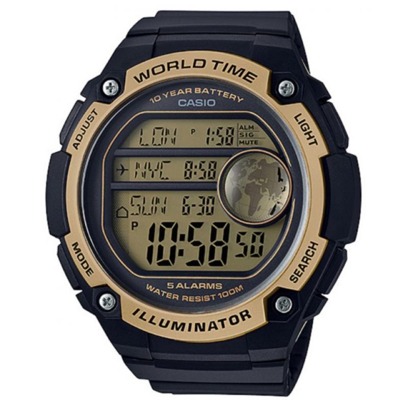 3D náhled Pánske hodinky CASIO AE-3000W-9A 52f840d4674