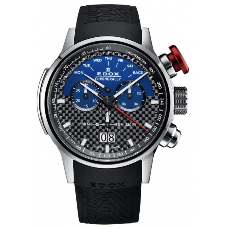 6ddce91fda 3D náhled Pánske hodinky EDOX Chronorally Limited Edition Sauber F1 Team  38001 TIN1 NBUJ