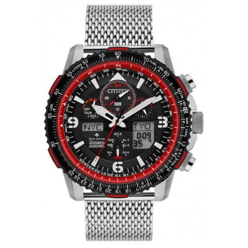 Pánske hodinky CITIZEN Skyhawk Limited Edition Red Arrows JY8079-76E ... 0f1c2d14805