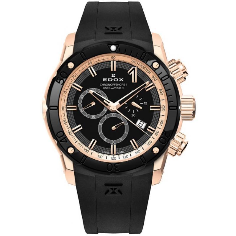 2845a78f12 3D náhled Pánske hodinky EDOX Chronograph 10221 37R NIR