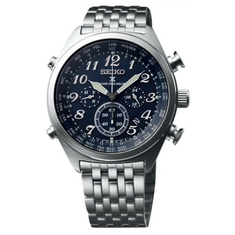 3D náhled Pánske hodinky SEIKO Prospex Radiocontrolled Solar SSG011P1 cb9bc35165d