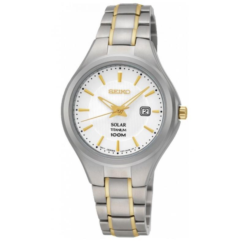 3D náhled Dámske hodinky SEIKO Titanium Solar SUT203P1 305b0ca12c8