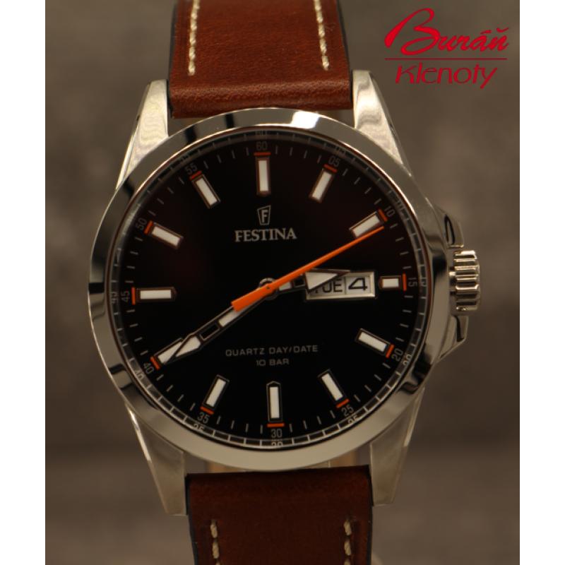Pánske hodinky FESTINA Classic Strap 20358 2 ... 76e6c6dbc0