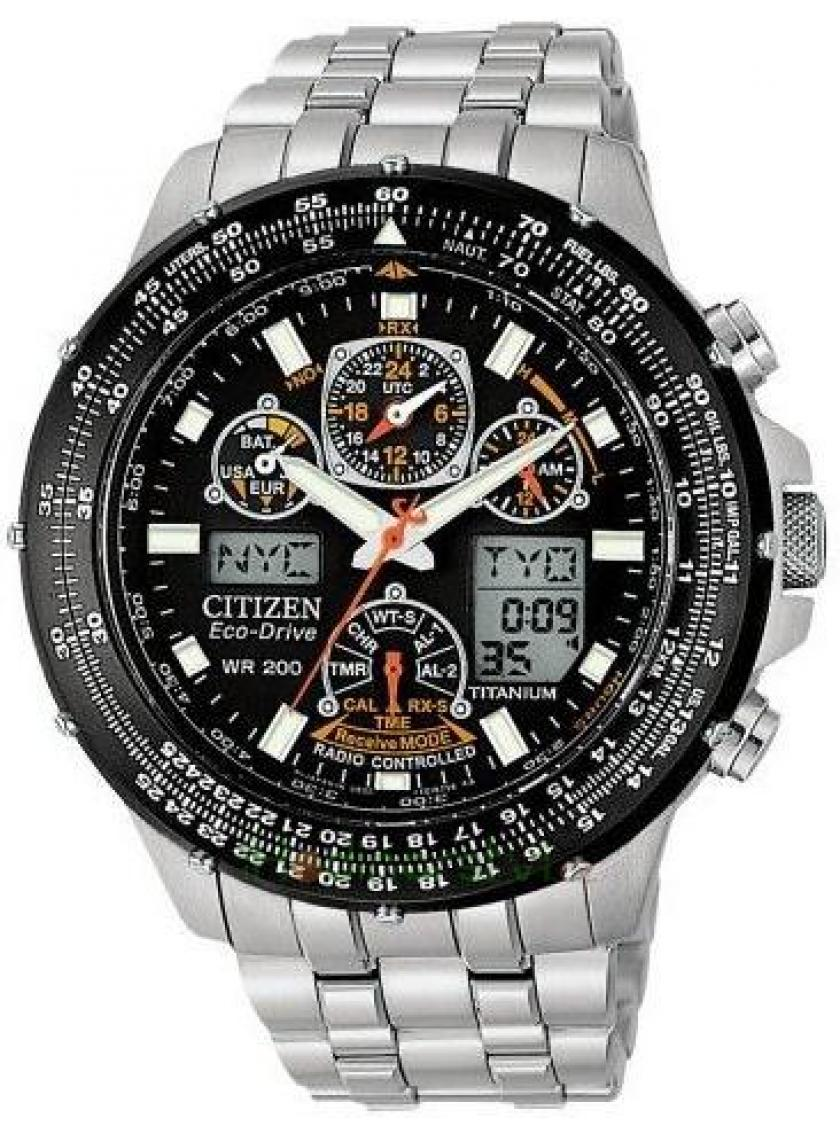 3D náhled Pánske hodinky CITIZEN Super Skyhawk JY0080-62E 33c6d88bda0