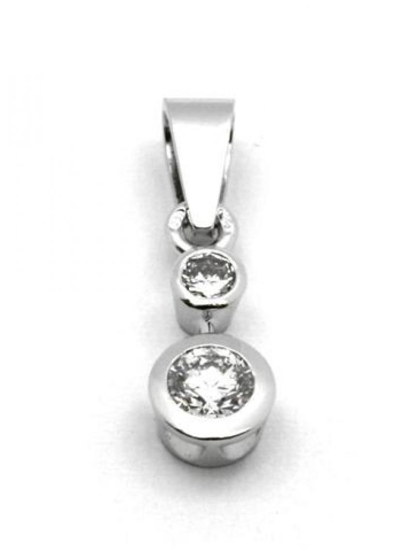 43553e01c Prívesok AU 585/000 př. Diamant 0,85g OPTIMA DIAMANT JO2194105 ...