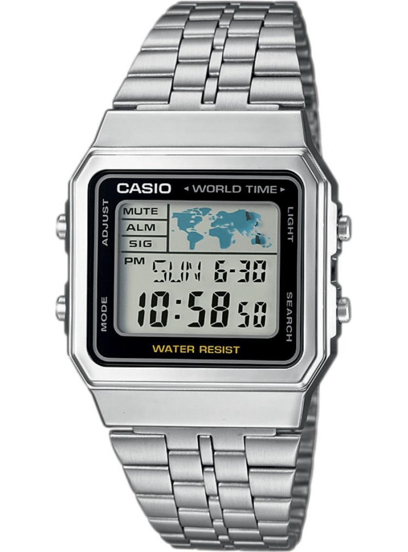 3D náhled Pánske hodinky CASIO Collection Retro A-500WEA-1 82d493cbd81
