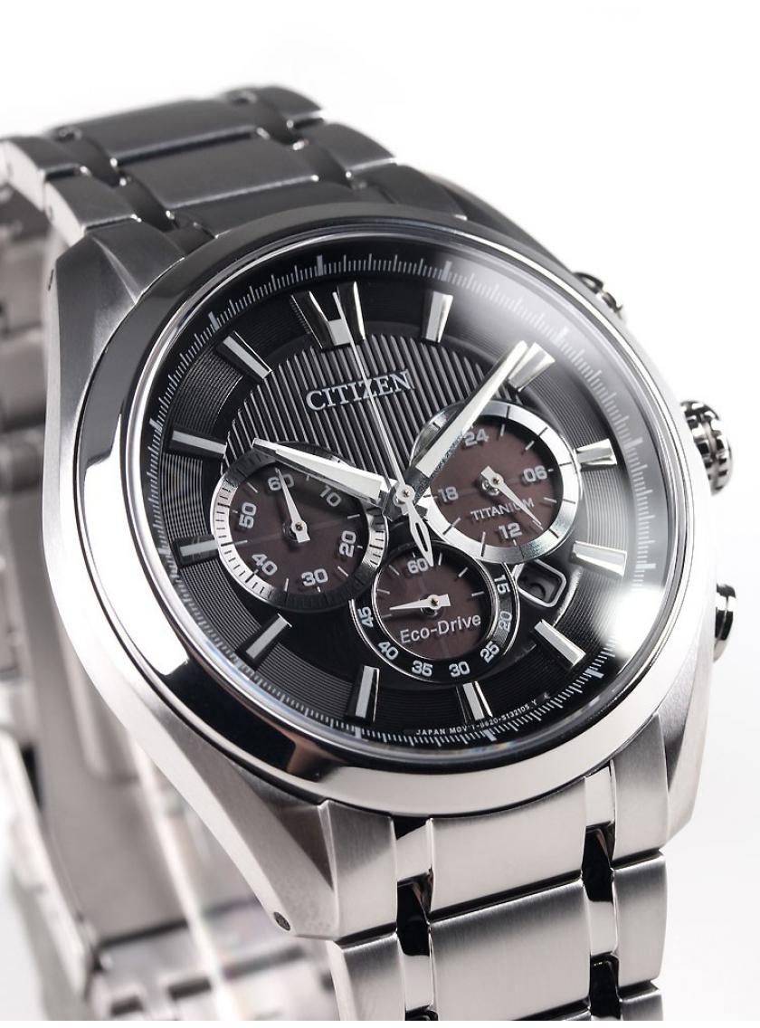 Pánske hodinky CITIZEN Super Titanium Chrono CA4010-58E ... 138e8acec42