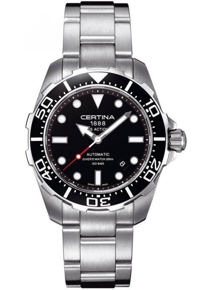 3D náhled Pánske hodinky CERTINA DS Action Diver Automatic  C013.407.11.051.00 4b4299678db