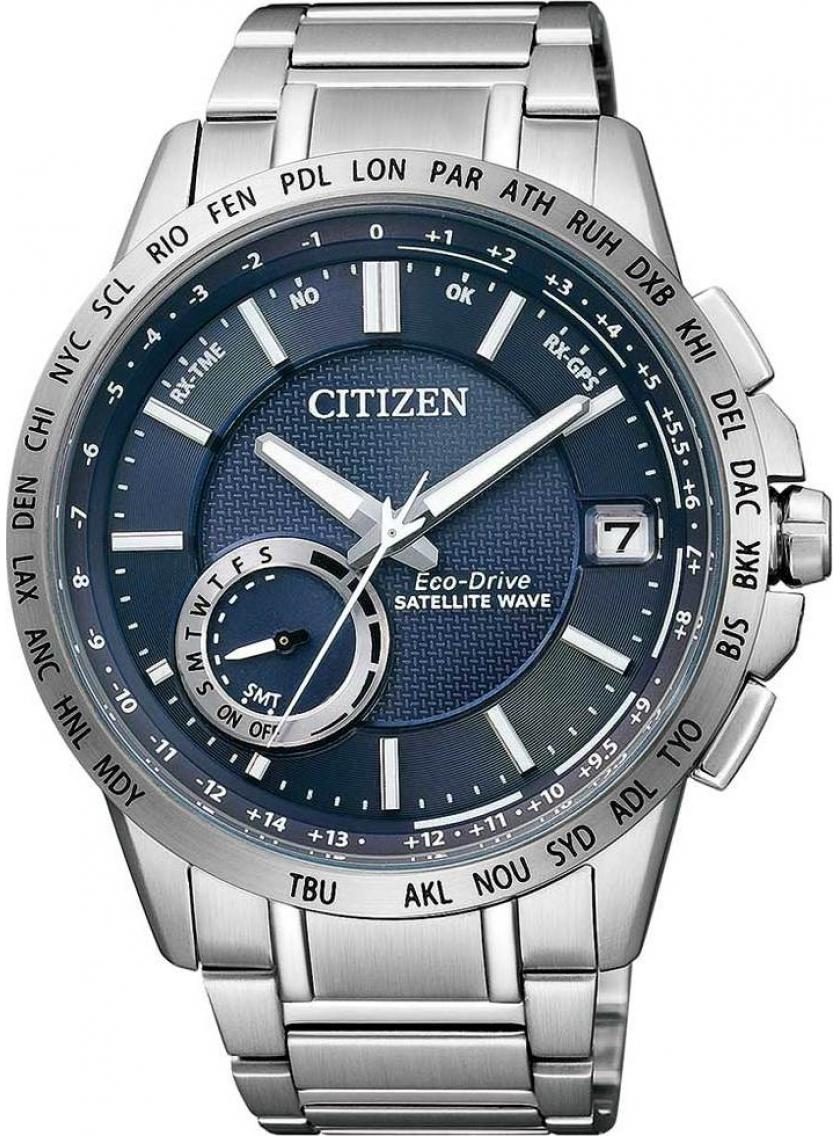 Pánske hodinky CITIZEN Satellite Wave CC3000-54L  8f479e25bca