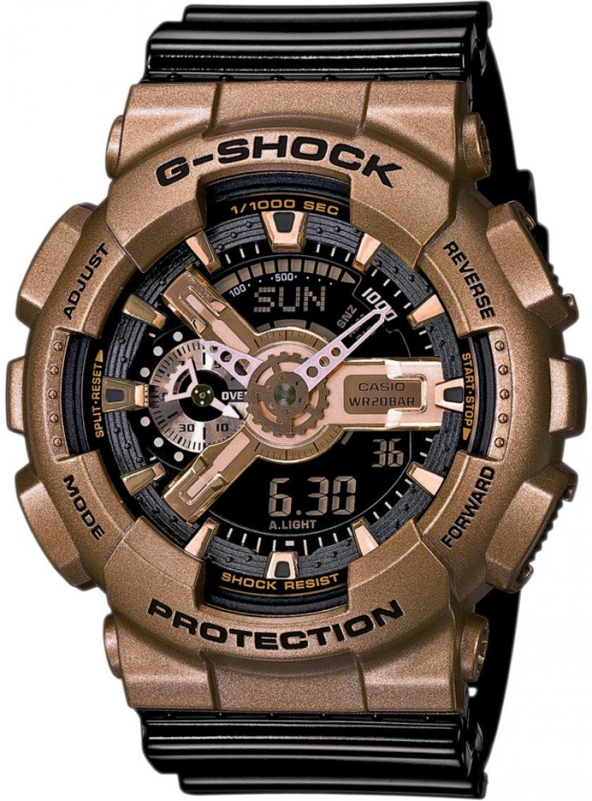 Pánske hodinky CASIO G-Shock GA-110GD-9B2  78c1de18469
