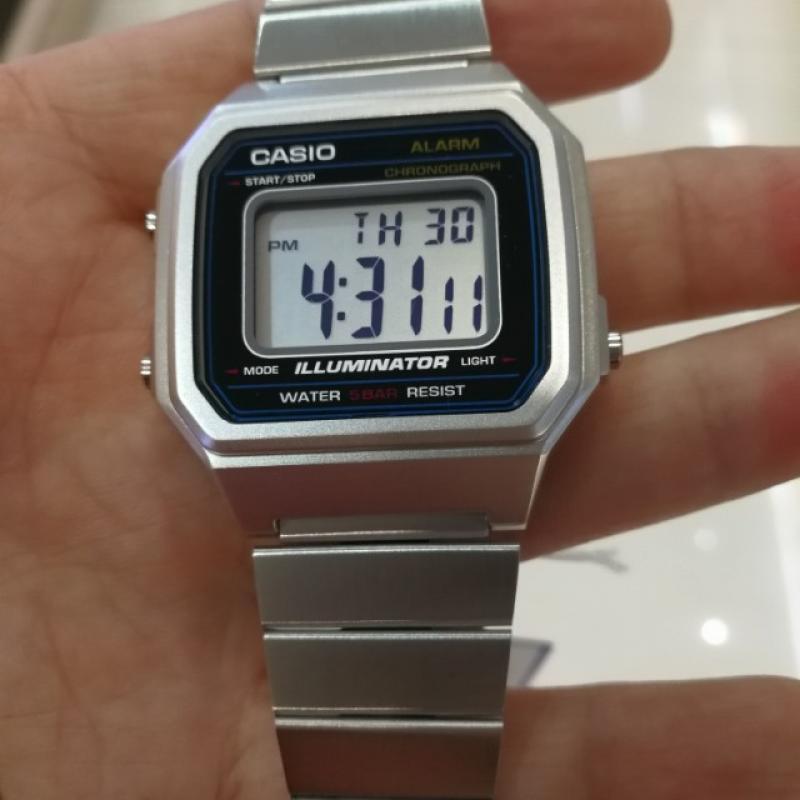 946d9b99e4e ... Pánske hodinky CASIO Collection B-650WD-1A