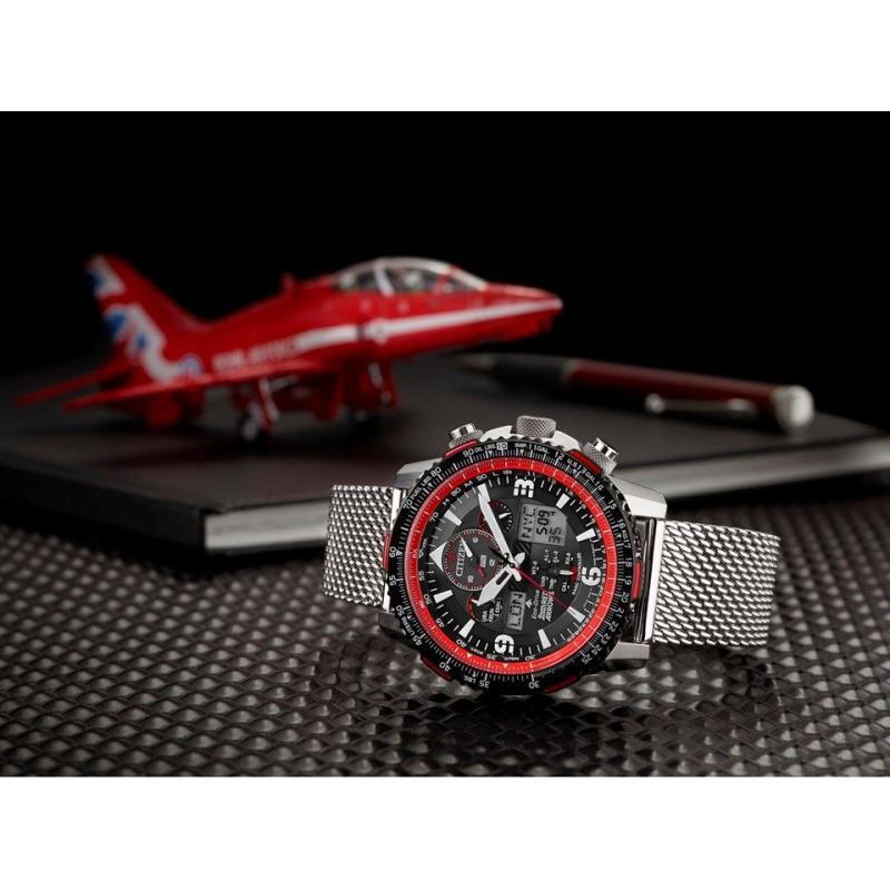 Pánske hodinky CITIZEN Skyhawk Limited Edition Red Arrows JY8079-76E ... e72e3bdb48